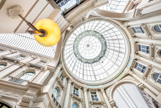 Bottom view of the Passage in The Hague