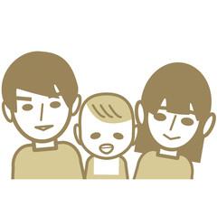 楽しそうな家族