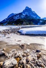 mountains at the austrian karwendel