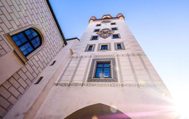 old city hall - munich