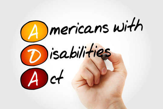 ADA - Americans with Disabilities Act acronym