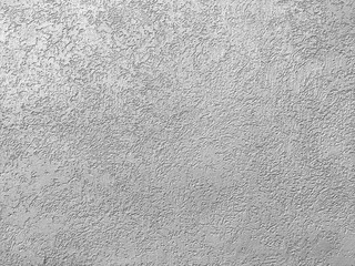 Texture of the grey plaster bark beetle on the wall. Seamless texture.
