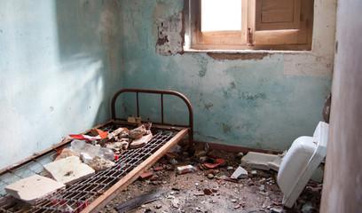 lugares abandonados Wall mural