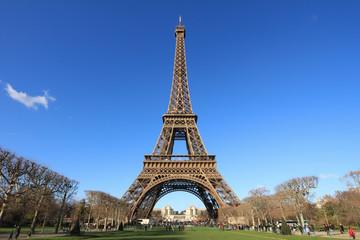 Poster Eiffeltoren Eiffel tower in paris 3