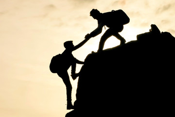 teamwork and success with unity and cooperation