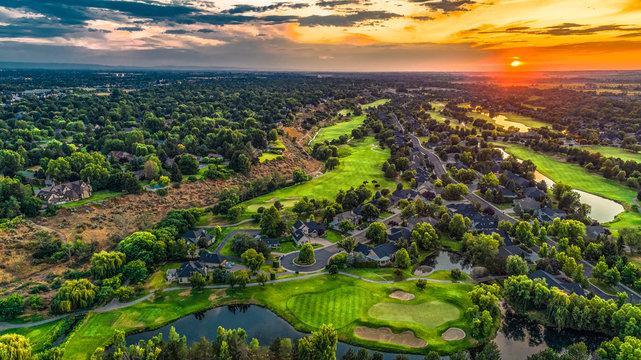 Golf Course Banbury Eagle Idaho