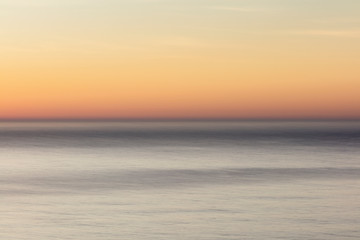 Seascape abstract at dawn,Point Reyes National Seashore