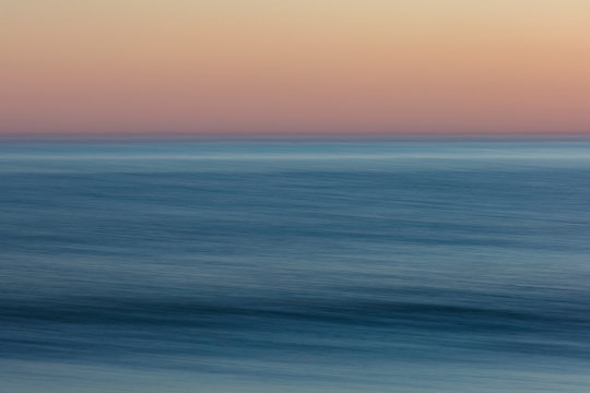 Ocean seascape, view to the horizon over the water surface. ,Point Reyes National Seashore