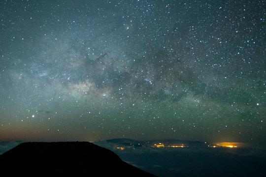 Haleakala Milky Way