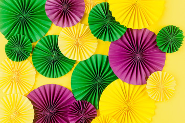 colorful background of mardi gras or carnival Wall mural