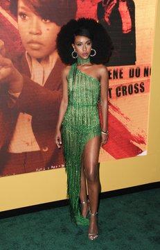 Ebony Obsidian at arrivals for Amazon Original HUNTERS Premiere