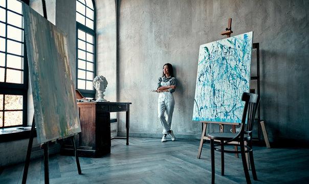 Asian female artist