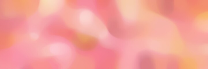 Keuken foto achterwand Candy roze blurred bokeh landscape format background bokeh graphic with dark salmon, light coral and light pink colors space for text or image