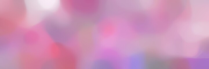 Poster Candy roze blurred bokeh iridescent landscape format background with pastel violet, thistle and pale violet red colors space for text or image