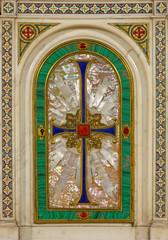Wall Mural - TURIN, ITALY - MARCH 15, 2017: The  pearliness tabernacle church Chiesa di San Dalmazzo.