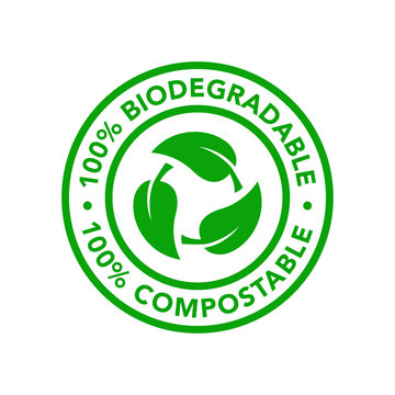 Biodegradable and compostable icon product