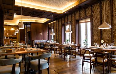 Canvas Prints Restaurant Interior of the Chinese restaurant