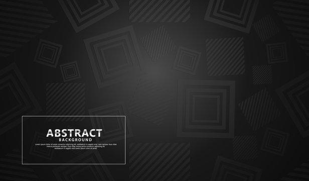 seamless circle geometric modern pattern