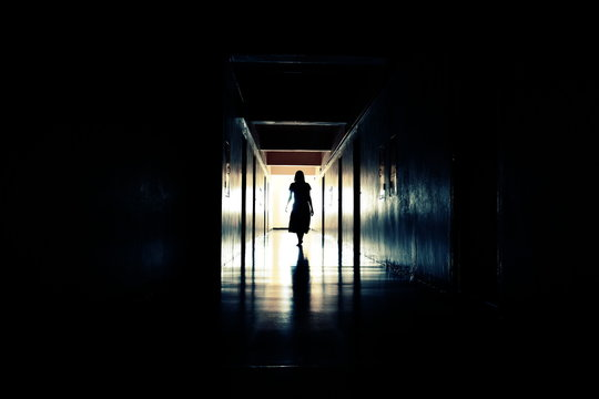 Walking Ghost. The spirit of man in the tunnel. The light at the end of the corridor.