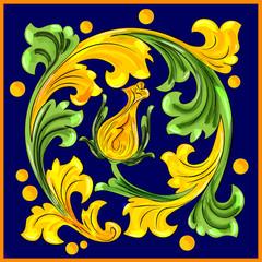 Decoro ceramiche artistiche di Caltagirone
