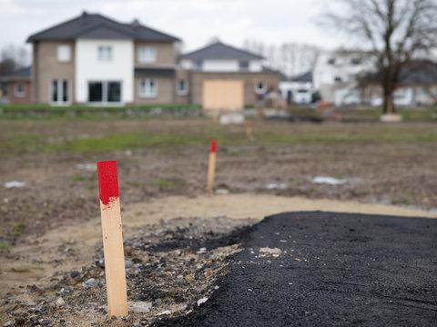 Neues Baugebiet - Bauplätze - Erschließung