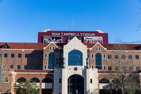 Tallahassee, FL / USA: Doak Campbell Stadium, home of Florida State University Football