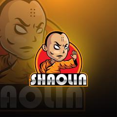 Shaolin esport mascot logo design