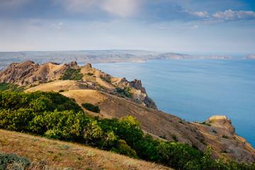 壁紙(ウォールミューラル) - Karadag mountain range in Crimean mountains, an ancient extinct volcano.