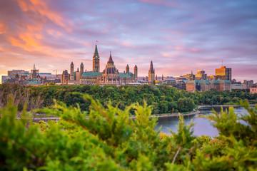 Fotomurales - Parliament Hill in Ottawa, Ontario, Canada
