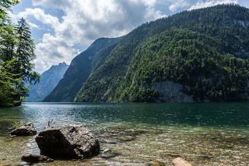 Coast of Kings's Lake bavaria