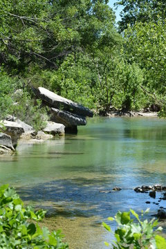 Barton Creek in Austin offers a great environment and nature to explore all year round