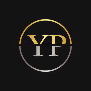 Initial YP Logo Design Vector Template. Creative Letter YP Business Logo Vector Illustration