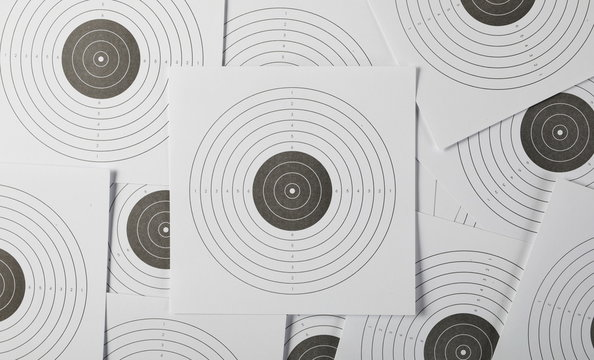 Paper target background and texture