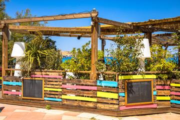 Wall Mural - Beach restaurant