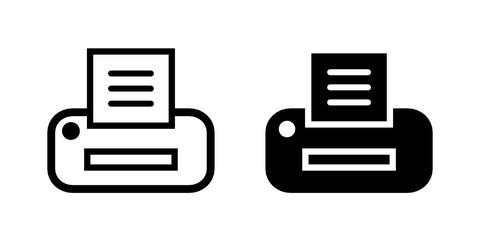 drukarka ikona - fototapety na wymiar