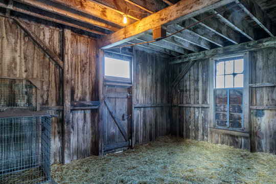 Vintage horse ranch Wilder Ranch State Park, Santa Cruz California