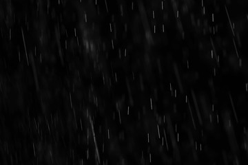 texture of rain and fog on a black background overlay effect Fotobehang