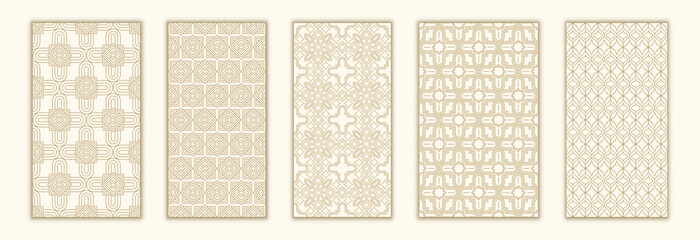 Bundle arabian seamless pattern with arabic and islamic ornament