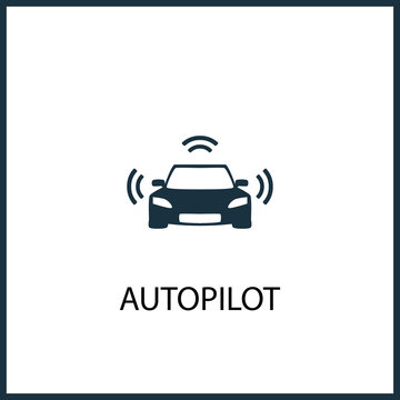 autopilot icon for web and mobile
