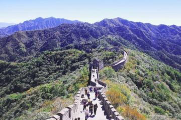 Fotorolgordijn Chinese Muur The great wall