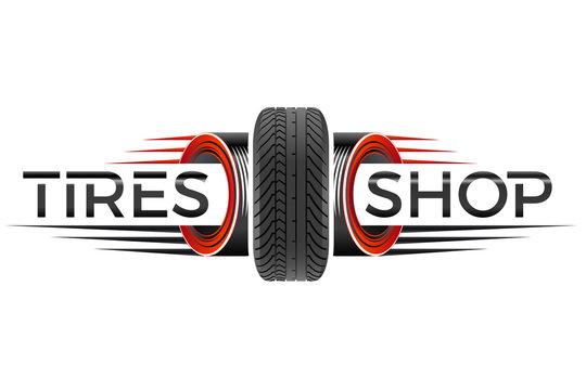 Reifenhandel - Motorsport- / Firmen-Logo