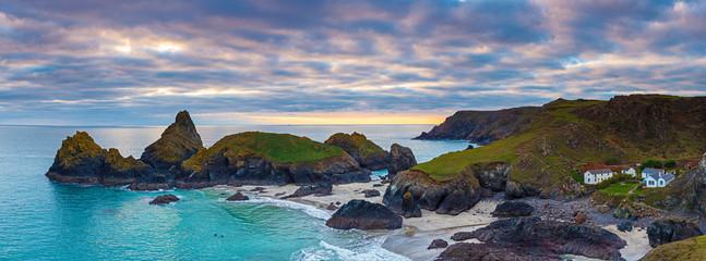 Fototapete - Sunset Kynance Cove Cornwall England UK