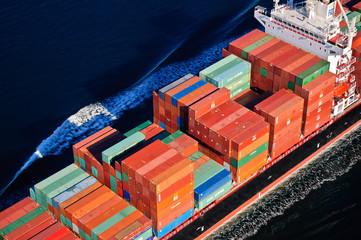 Fototapeta Container Ship obraz