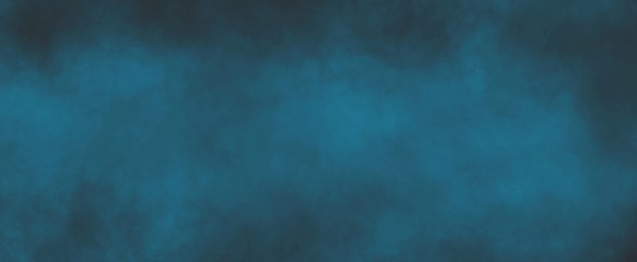 Dark and light blue background with soft blurred texture design, abstract blurry blue background with light center and dark borders Wall mural