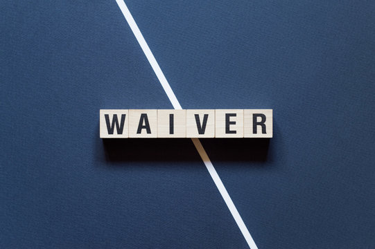 Waiver word concept on cubes
