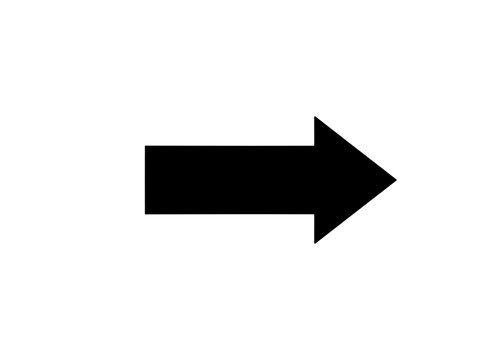 arrow isolated on white background