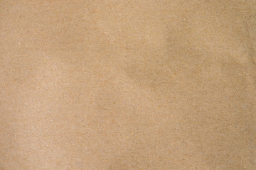Brown paper, craft abstract background. Retro, old antique vintage paper art pattern texture background. Detail paperboard texture of pattern with free space copy for text, vignette effect.