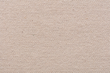 Perfect coton canvas background in light beige color for new design work.