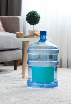 Large delivered water at home interior