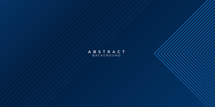 Blue background with abstract wave spiral modern element for banner, presentation design and flyer